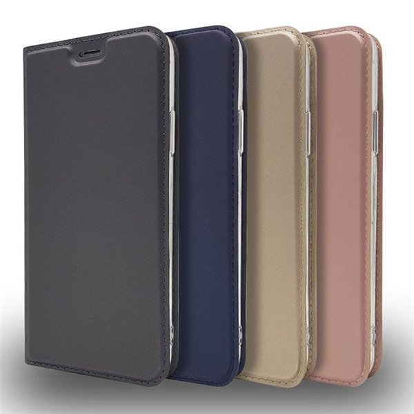 For iPhone X Wallet Case for iPhone 6 7 8 Plus Flip Stand with Magnetic Card Holder Cover 50pcs/up