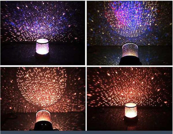 top popular Free shipping New Novelty Item New Amazing LED Star Master Light Star Projector Led Night Light X 2021