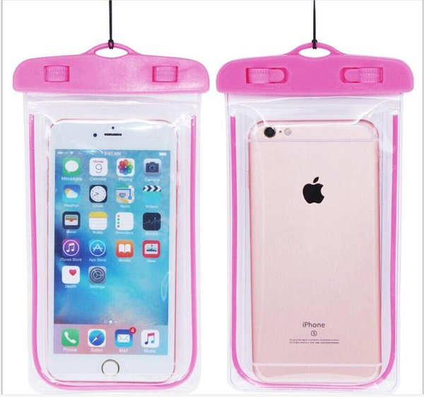 waterproof phone case pink