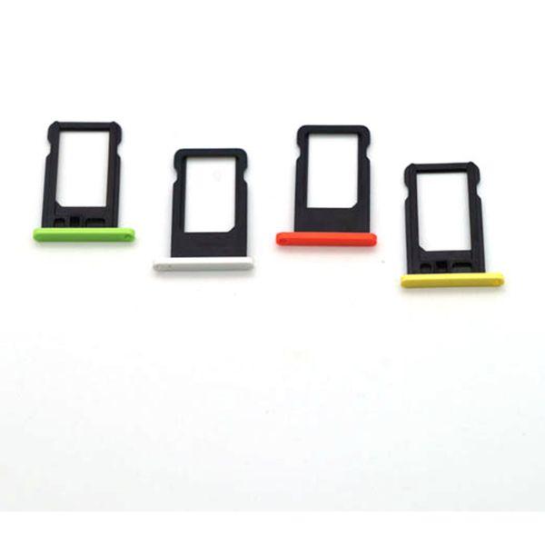 Real Photo Sim support de plateau de carte pour iPhone 4G 4S 5G 5S 5C 6G 6S 6 Plus 6S Plus 7G 7 Plus