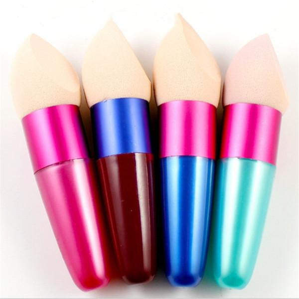 Makeup foundation ponge bru h co metic bru he oval drop liquid cream foundation concealer with gift