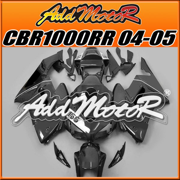 5 Gifts Addmotor New Goods Best Selling Injection Mold Fairings Fit Honda CBR1000RR 2004 2005 CBR 1000RR 04 05 Body Work Black No.155 H1437