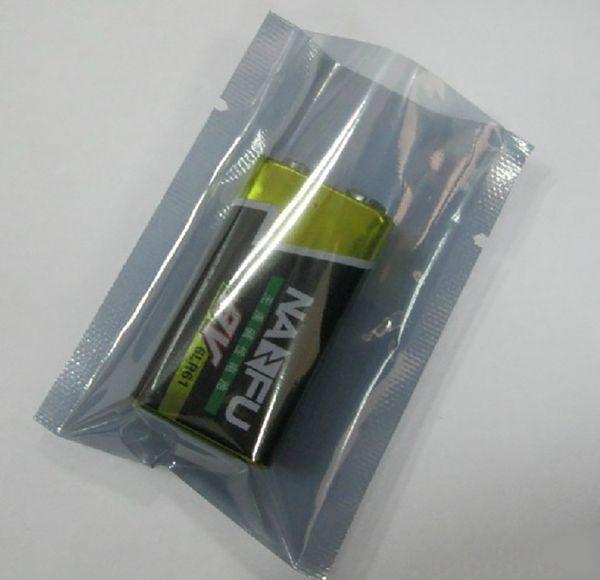 Anti Statique Protéger L'emballage Sacs Zipper Top étanche à l'humidité Self Package Package Sac De Rangement (2)