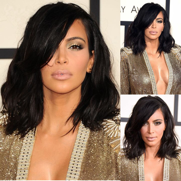 7A Full Lace Human Hair Wigs For Black Women Brazilian Hair Wig Loose Wave Short Cut Lace Front Human Hair Wigs