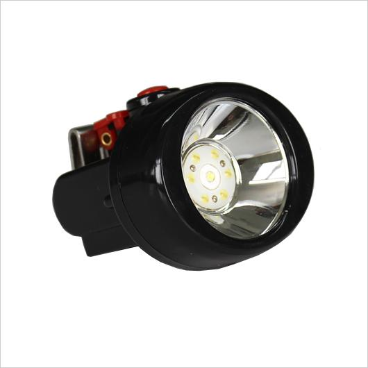 free shipping YJM-KL2.5Lm(B)OEM Black and Red Color 8000LM with Metal Clip 18650 LED Miner lamp/ Mining lighting/ Underground explosion-proo