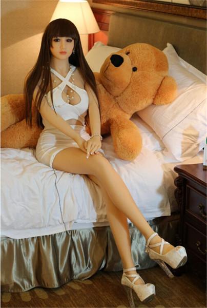 Vida Real Bonecas Sexuais de Silicone Realistas Para Os Homens Realistas Boneca Sexual Realista Buceta Mordida Oral Sólida Silicone Sexy Girl Love Dolls Brinquedos Para Adultos