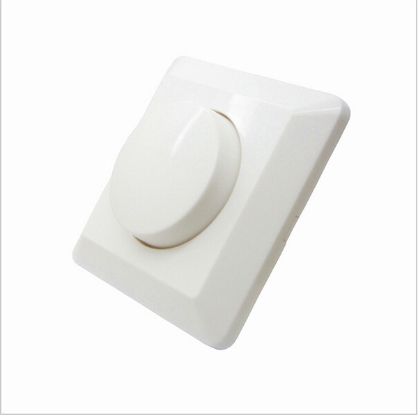 LED SCR EU dimmer switch 250W AC 220V-240W Adjustable Controller LED Dimmer Switch For Dimmable panel light Downlight