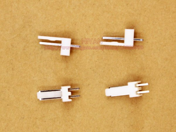 (100 sets / lote) conector KF2510 2510 2Pin 180 grados Inclinación: 2.54MM 0.1inch Pin Header + Terminal + Housing