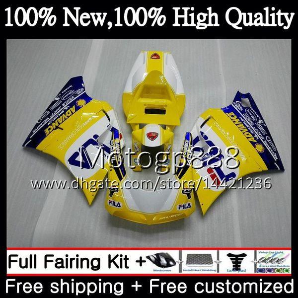 For Kawasaki ZX 9R 1998 98 99 00 01 Complete Full Fairing Bolt Kit Silver GM