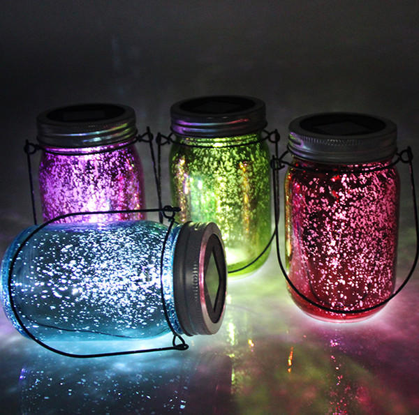 Christmas Gifes New Solar Table Light Color Changing Light Sensing Lantern  Table Lamp Path Landscape Lights