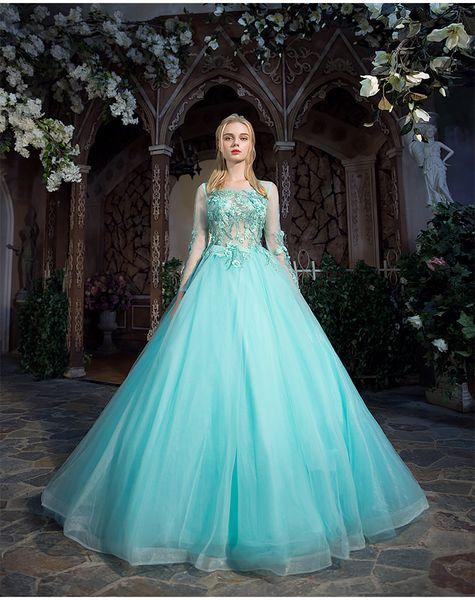 luce acqua blu lusso abito medievale abito siss principessa medievale rinascimentale abito regina cosplay vittoriano Belle palla