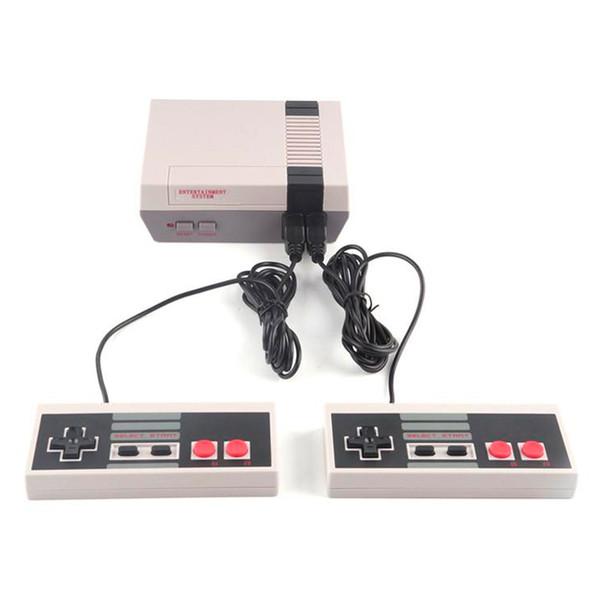 Sıcak Nes Oyun Konsolları 620 Klasik Oyunları Ile Mini TV Video Oyunları El Konsolu Retro Oyuncu Perakende Kutusu Ile PAL NTSC Için