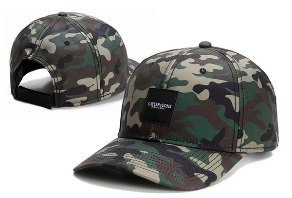 best selling New arrive Curved bill cayler sons camo Snapback Hats Adjustable Caps fashion hip hop men women baseball hat