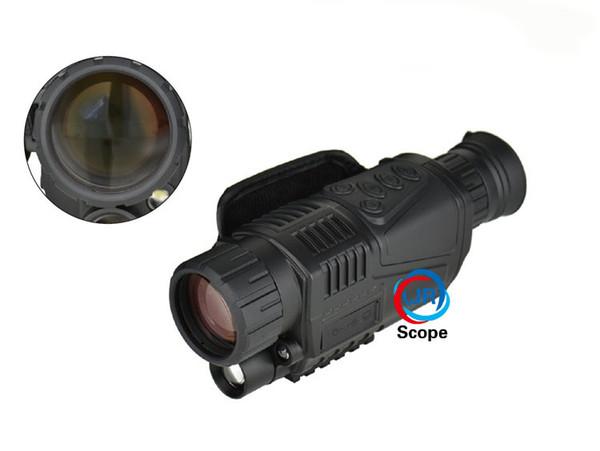 Infrared digital night vision monocular scope magnification