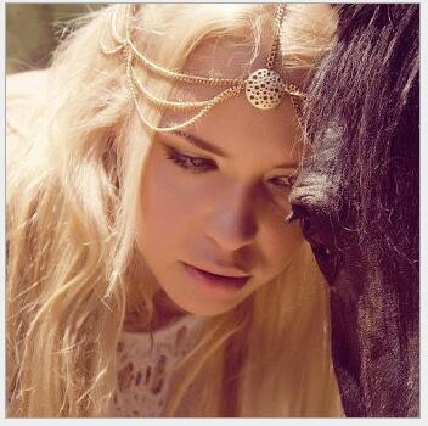 50PCS Beautiful Hollow hair accessories Wedding Bridal Hair Accessories Beaded Pearls Head Chain Indian Women Hair Jewelry F309