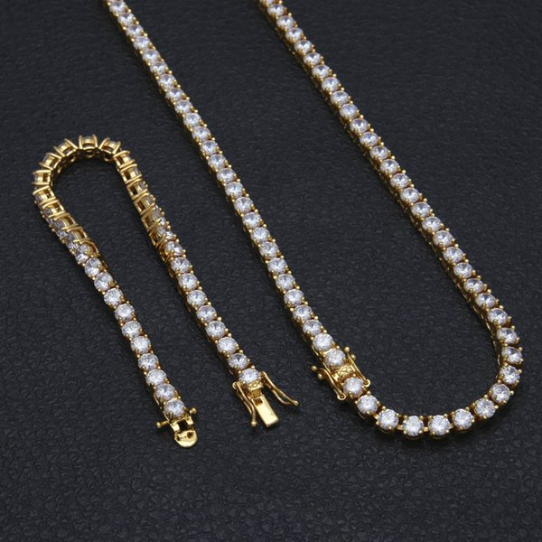 20''gold necklace+8''bracelet