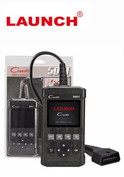 Original Launch Creader 5001 CR5001 OBD2 Scanner Super Durable Ultra Portable OBDII DIY OBD 5001 Code Read