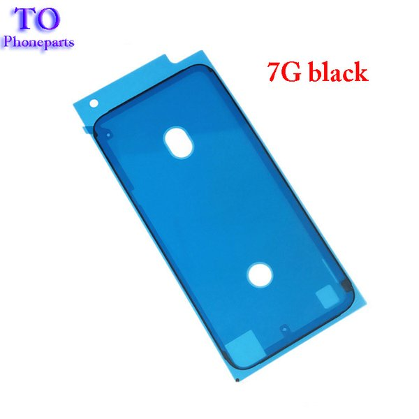 200PCS Front LCD Frame Housing Waterproof Sticker 3M Pre -Cut Adhesive Glue Tape Sticker For iPhone 6s plus 7 8 Plus