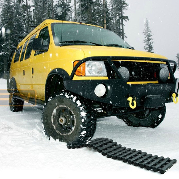Recovery Tracks Tire Grip Tracks Car Trailer Plate Slip-resistant Plate Snow Chain Safe Driving Ice Snow Mud