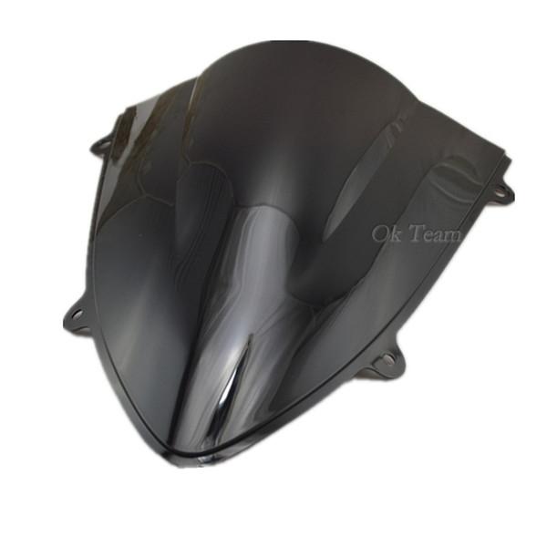 Çift Kabarcık Motosiklet Cam WindScreen 250R EX250 2008-2012 09 10 11 Siyah / Mavi / Şeffaf / Gümüş / İridyum ABS