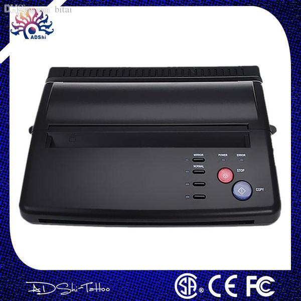 Wholesale-lowest price A4 Transfer Paper black Tattoo copier thermal stencil copy Transfer Tattoo machine