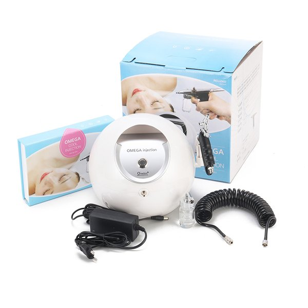 2017 Korea Portable Oxygen jet peel facial beauty water oxygen machine for home use CE approval DHL Free Shipping