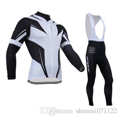 2017 DeloitteNew CUBO dos homens Outono Inverno Pro Team Racing Terno Conjuntos de Roupas de Manga Longa Bicicleta Bicicleta Jersey MTB Apertado Sportswear