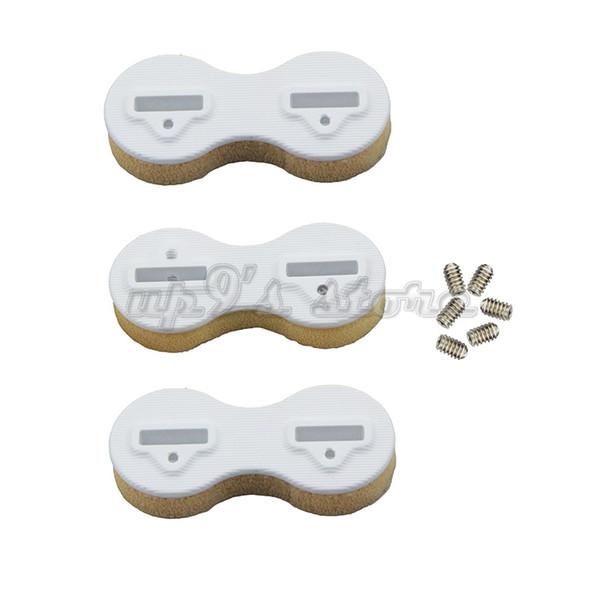 10 Sets Plastic FCS Fusion Fin Box Surfboard Fins Surfing Plugs Tri-fin Set(10x0deg + 20x9deg) 30pcs