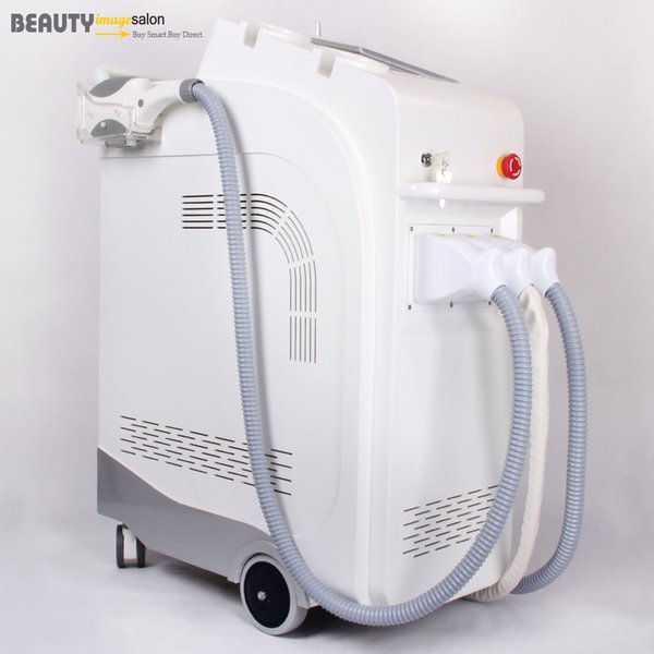 IPL E-light Hair Removal Yag Laser Freckle Wrinkle Tattoo Removal RF Radio Frequency Skin Rejuvenation Multi-functional Beauty Machine