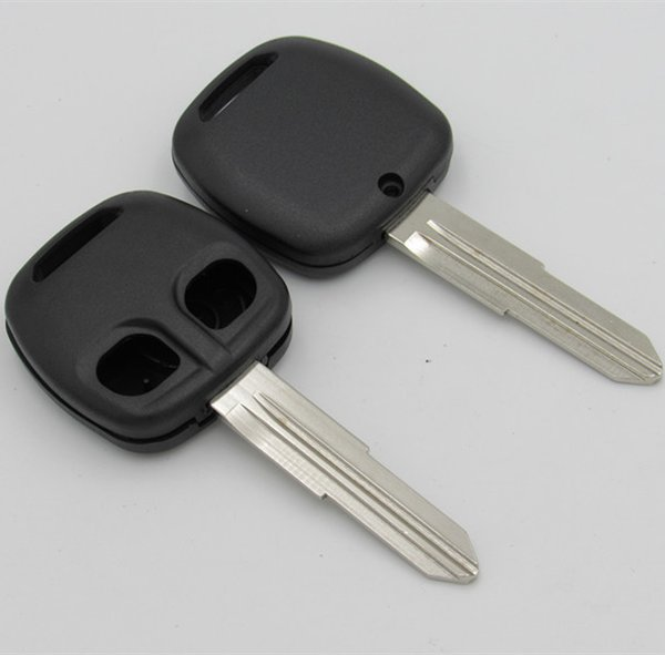 New 2 buttons remote key blank shell FOB key case for Mitsubishi old model