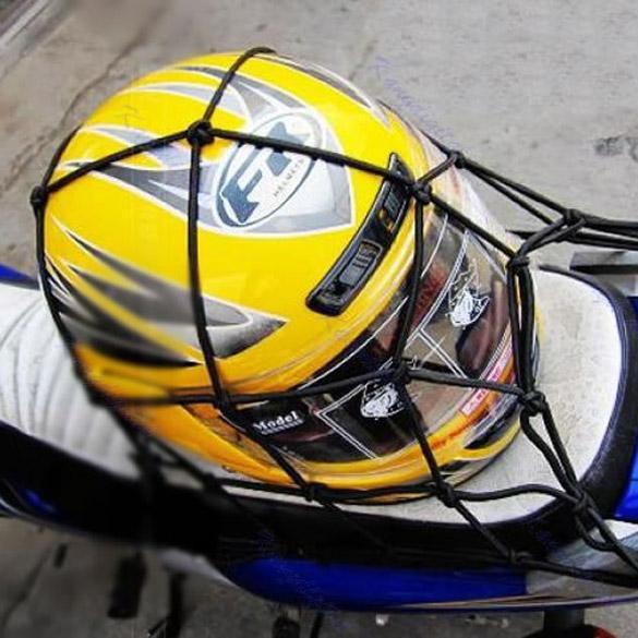 6 hooks Mesh Net Bag for Motorcycle Bike Luggage Cargo Mesh Helmet Net Holder Hold down Fuel Tank Luggage Net Mesh free shipping