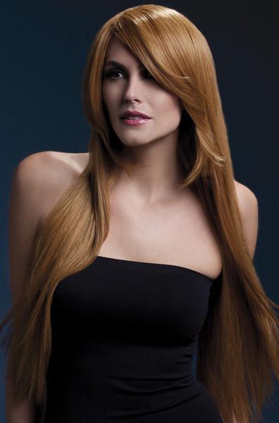 Pelucas de cabello humano de encaje completo Cabello brasileño Lacio Pelucas de cabello sedoso Chica que todo el bud Peluca de seda Color Marrón claro bNegro Mujer peluca kabell