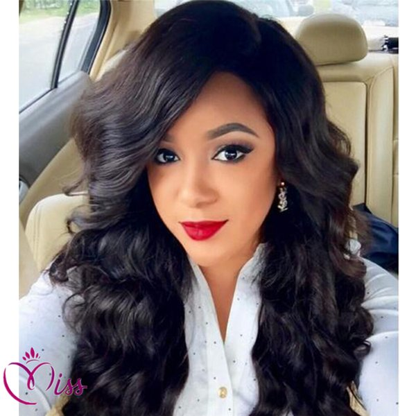 7A Glueless Brazilian Full Lace Wig Deep Wave Unprocessed Hair Natural Hairline Lace Front Human Hair Wig For Black Women