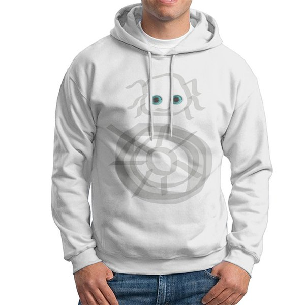 Inexpensive men hoodie jumpers and young personality sweatshirts white male 100% cotton fabric hooded hoodie S/M/L