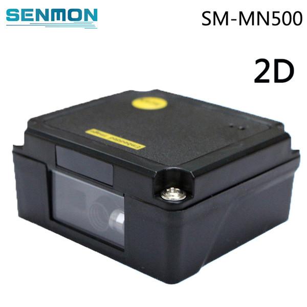 Großhandels-USB / RS232 1D / 2D Laser-Barcode-Scanner-Modul Mini tragbarer Handlaser Eingebetteter Barcodeleser PDF417 QR Code-Scanner