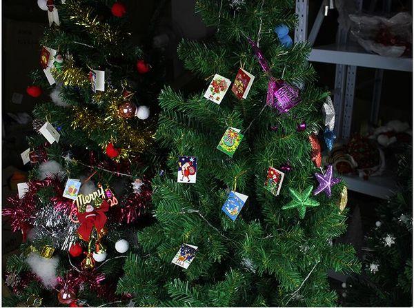 Großhandel Weihnachtskarten Printed Xmas Ornamente Karte 6.5X5.5Cm ...