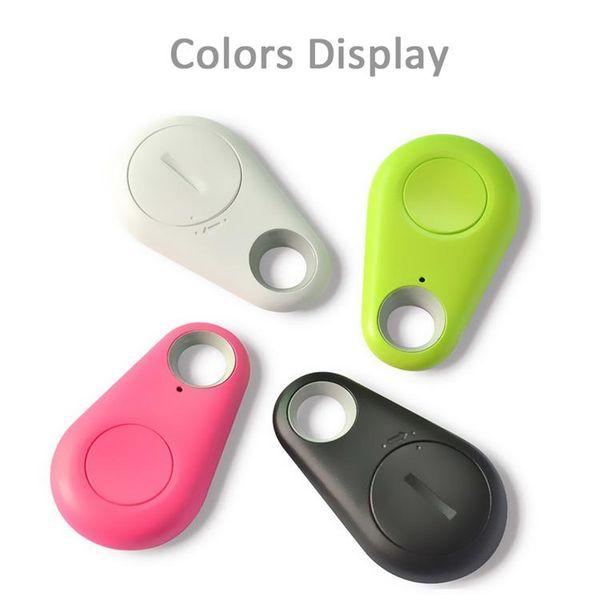 Анти-потерянный смарт Bluetooth трекер ребенок сумка бумажник Key Finder GPS локатор сигнализации 4 цвета Pet телефон автомобиль потерял напоминание