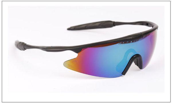 Superlight Frame Night Vision Goggle Military Sunglasses Semi-Rimless Active-duty Tactics Wind Goggles Circle Sunglasses