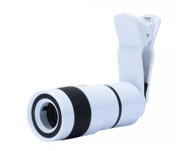 Universal Telescope 8X Zoom Lens Binoculars 2017 8X Magnification Mobile Phone for Iphone Samsung Smart Phones
