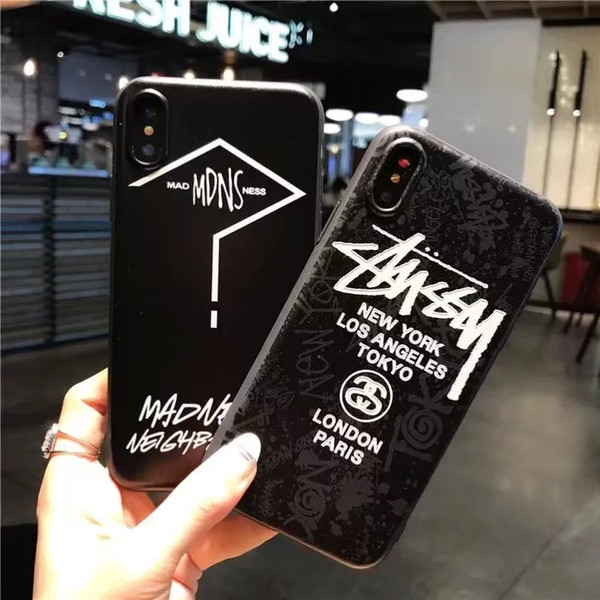New For Iphone 8 Phone Cases 3D Silicone Embossed Matte Painting TPU Mobile Phone Case For Apple 8 A Variety Of Styles