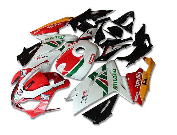 4 Regalos gratis Nuevos carenados Inyección ABS Completos kits de carenado para aprilia RS125 2006-2011 RS 125 06 07 08 09 10 11 Set de carrocería RS4