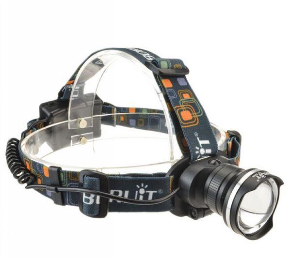 Boruit Waterproof 2000 Lumen CREE XM-L T6 LED Headlight Headlamp Zoomable Head Lamp Flashlight Lantern 5 Mode Free shipping