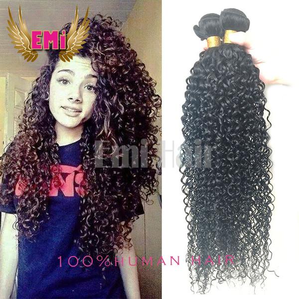 7a Brazilian Virgin Hair Kinky Curly Hair 100gpcs Mixed 8 26inch