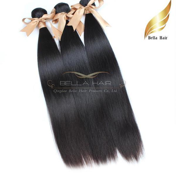 "Mongolian Hair Wefts 10""-28""Human Hair Weaves Straight Hair Extensions Bundles 8A 3pcs/lot Free shipping"