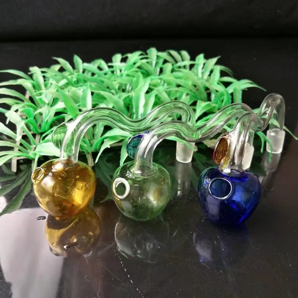 New color apple cooker , Wholesale Glass bongs Oil Burner Glass Pipes Water Pipes Glass Pipe Oil Rigs Smoking Free Shoping...