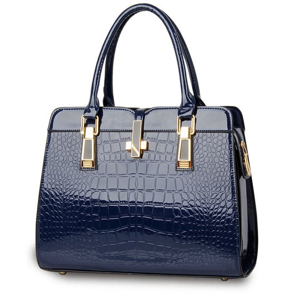 Woman Bag 2017 New Fashion Bags Handbags Women Famous Brands Luxury Designer Bag Handbag High Quality Crocodile Leather Tote Hand Bag