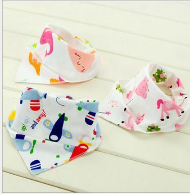 Lätzchen Spucktuch-Kind-seitiges Säuglingsverband-Baumwollbaby-Fütterungsbib-Schal-Speichel-Tuch-Schürzen Fabrik-Großverkauf-freies Verschiffen-Tropfen