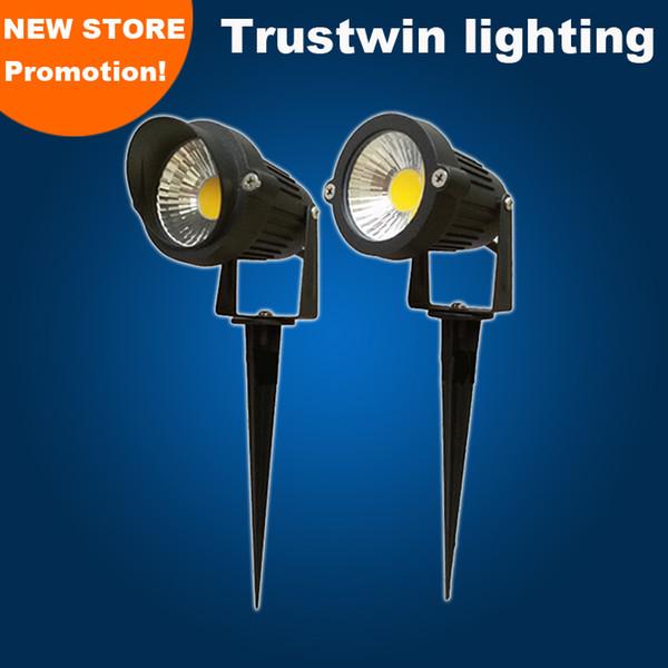 Foco para exteriores LED resistente al agua con inserto de punta Enlace de 5W IP65 LED Lámpara para luz de césped LED