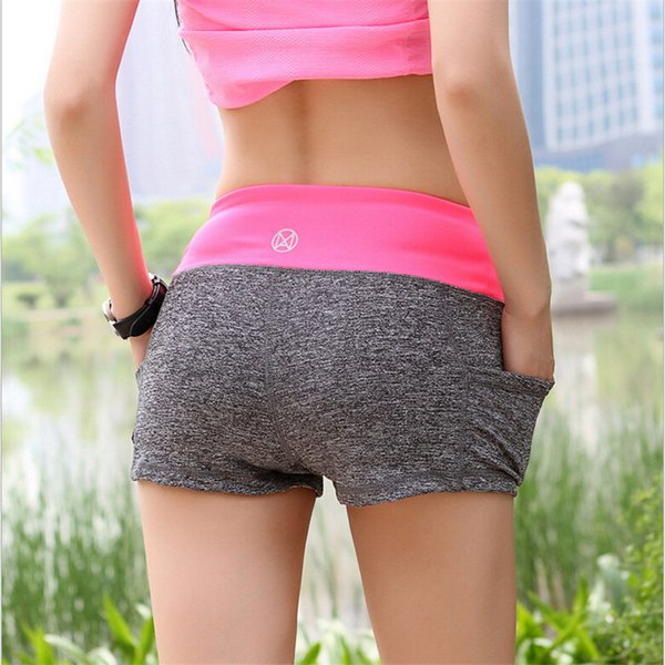 Summer Beach Athletic Short Femmes Mode Casual Taille Haute Imprimé Cool Gym Cyclisme Sport Fitness Running Shorts