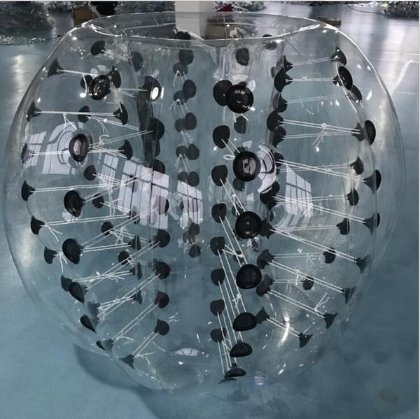 Palla gonfiabile di calcio di calcio della bolla di 1.2m per i bambini Calcio di paraurti della palla del criceto umano della palla di Zorb del loopy per i bambini